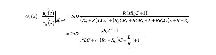 车载逆变器推挽dc/dc变换器之小信号模型的建立